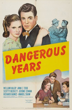 Dangerous Years - Movie Poster (thumbnail)