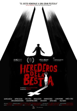 Herederos de la bestia - Spanish Movie Poster (thumbnail)