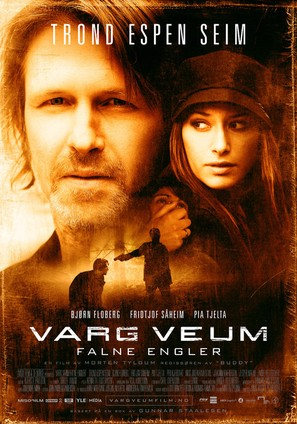 Varg Veum - Falne engler - Norwegian Movie Poster (thumbnail)