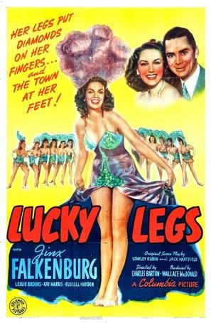 Lucky Legs - Movie Poster (thumbnail)