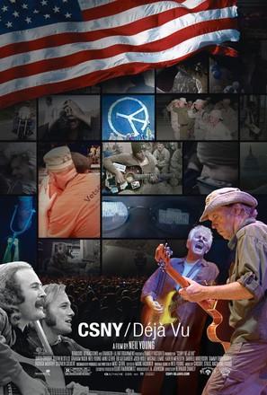 CSNY Déjà Vu - Movie Poster (thumbnail)