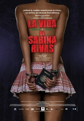 La vida precoz y breve de Sabina Rivas - Mexican Movie Poster (thumbnail)