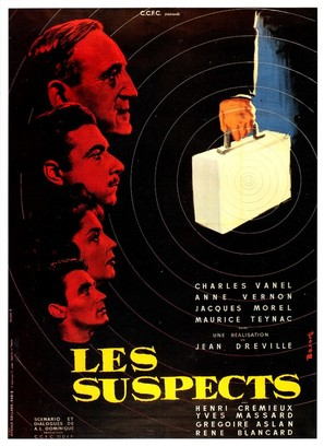 Les suspects - French Movie Poster (thumbnail)
