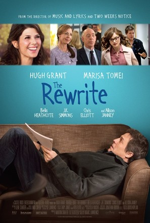 The Rewrite - Theatrical movie poster (thumbnail)