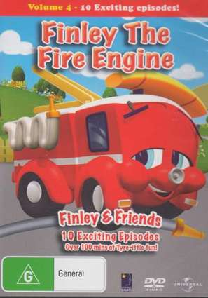 """Finley the Fire Engine"" - Australian DVD cover (thumbnail)"