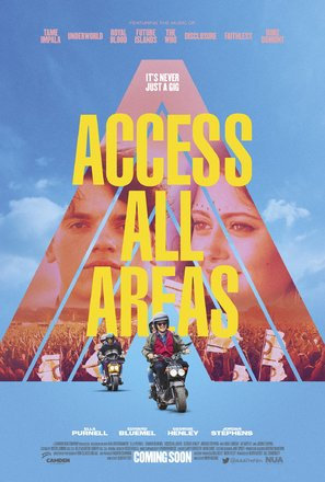 Access All Areas - British Movie Poster (thumbnail)