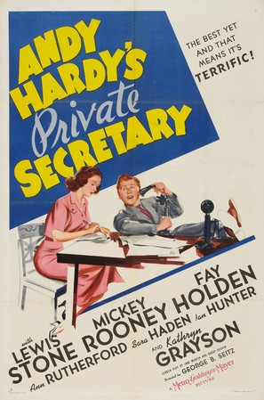 Andy Hardy's Private Secretary - Movie Poster (thumbnail)