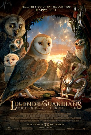 Legend of the Guardians: The Owls of Ga'Hoole - Movie Poster (thumbnail)