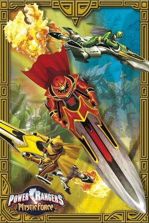 """Power Rangers Mystic Force"" - poster (thumbnail)"