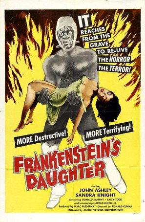 Frankenstein's Daughter - Movie Poster (thumbnail)