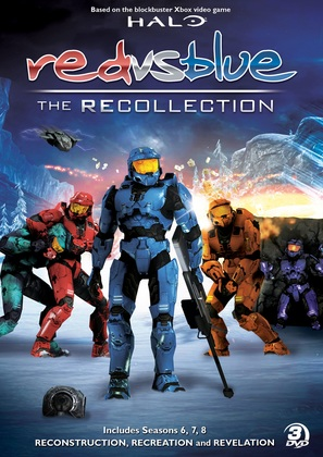 """Red vs Blue: Recollection Trilogy"" - DVD cover (thumbnail)"
