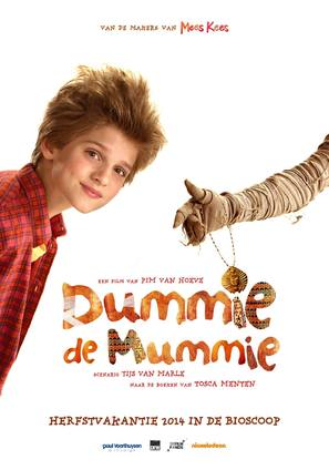 Dummie de Mummie - Dutch Movie Poster (thumbnail)