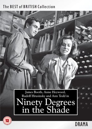 90 Degrees in the Shade - British DVD movie cover (thumbnail)