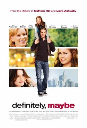 Definitely, Maybe - Movie Poster (thumbnail)