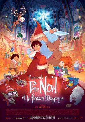 L'apprenti Père Noël et le flocon magique - French Movie Poster (thumbnail)
