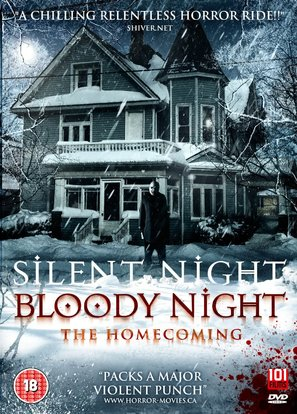 Silent Night, Bloody Night: The Homecoming - British DVD movie cover (thumbnail)