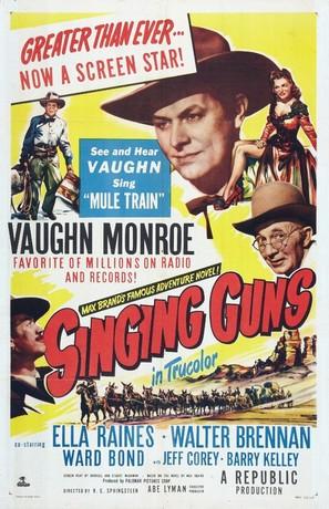 Singing Guns - Movie Poster (thumbnail)