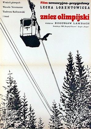 Znicz olimpijski - Polish Movie Poster (thumbnail)