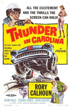 Thunder in Carolina - Movie Poster (thumbnail)