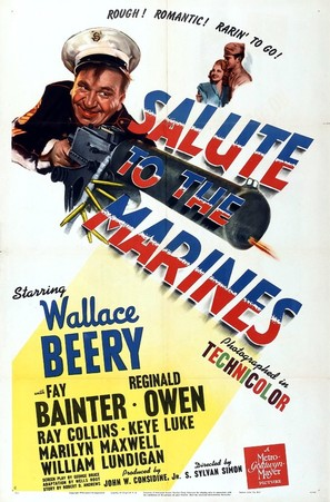 Salute to the Marines - Theatrical poster (thumbnail)