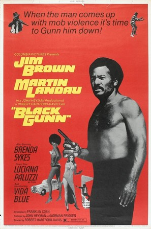 Black Gunn - Movie Poster (thumbnail)