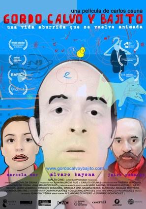 Gordo, calvo y bajito - Colombian Movie Poster (thumbnail)