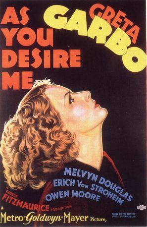 As You Desire Me - Movie Poster (thumbnail)
