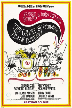 The Great St. Trinian's Train Robbery - Movie Poster (thumbnail)