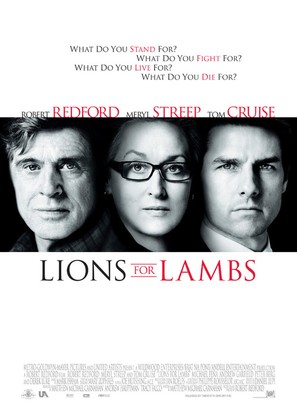 Lions for Lambs - Movie Poster (thumbnail)