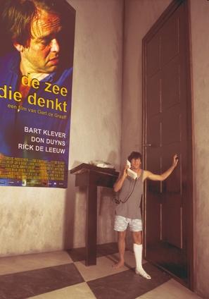 Zee die denkt, De - Dutch Movie Poster (thumbnail)