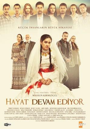 """Hayat Devam Ediyor"" - Turkish Movie Poster (thumbnail)"