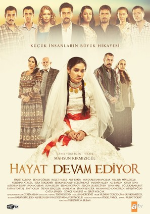"""Hayat Devam Ediyor"" - Turkish Movie Poster (thumbnail)"