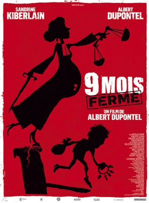 9 mois ferme - French Movie Poster (thumbnail)