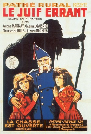 Le Juif errant - French Movie Poster (thumbnail)