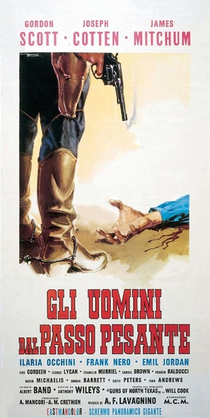 Gli uomini dal passo pesante - Italian Movie Poster (thumbnail)