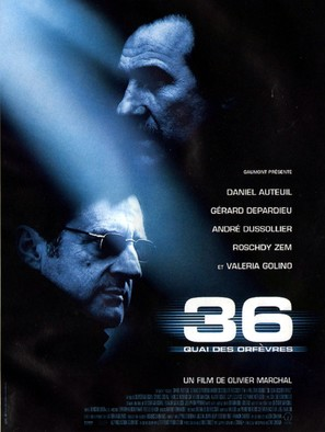 36 Quai des Orfèvres - French Movie Poster (thumbnail)