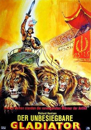 Gladiatore invincibile, Il - German Movie Poster (thumbnail)