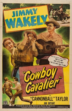Cowboy Cavalier - Movie Poster (thumbnail)