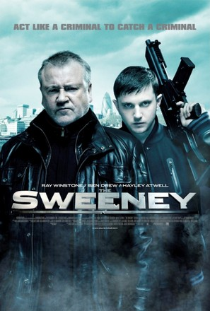 The Sweeney - British Movie Poster (thumbnail)