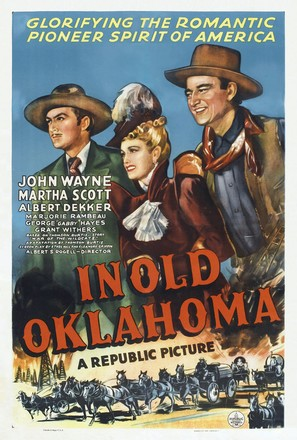 In Old Oklahoma - Theatrical movie poster (thumbnail)