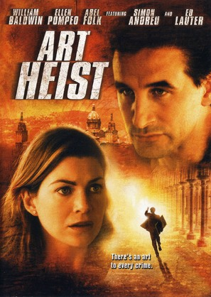 Art Heist - DVD movie cover (thumbnail)