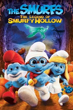 The Smurfs: The Legend of Smurfy Hollow - DVD movie cover (thumbnail)