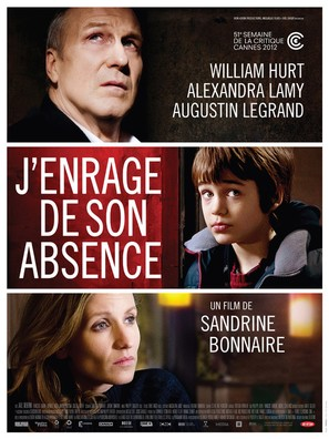 J'enrage de son absence - French Movie Poster (thumbnail)