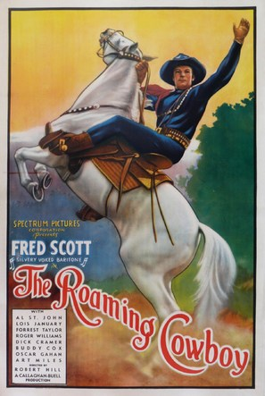 The Roaming Cowboy - Movie Poster (thumbnail)