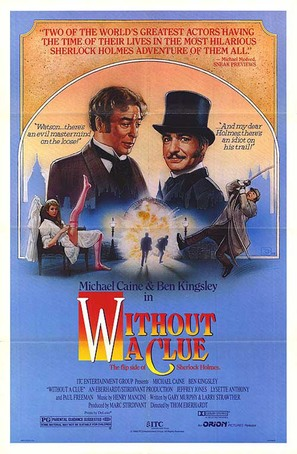 Without a Clue - Movie Poster (thumbnail)