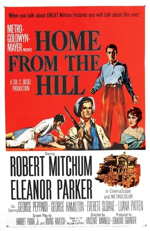 Home from the Hill - Movie Poster (thumbnail)
