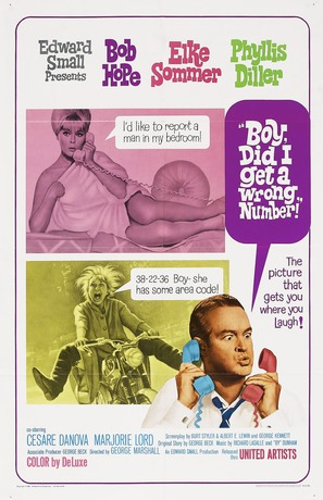 Boy, Did I Get a Wrong Number! - Movie Poster (thumbnail)