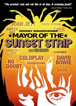 Mayor of the Sunset Strip - DVD cover (thumbnail)