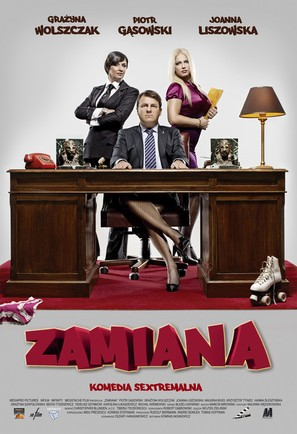 Zamiana - Polish Movie Poster (thumbnail)