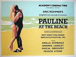 Pauline à la plage